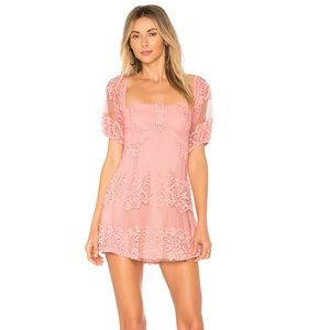Free People | Be Your Baby | Lace Mini | SZ M
